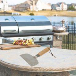 Orange85 Barbecue flipper met houten handvat