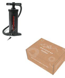 luchtpomp en doos
