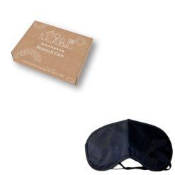 Orange85 Zwart comfortabel Slaapmasker