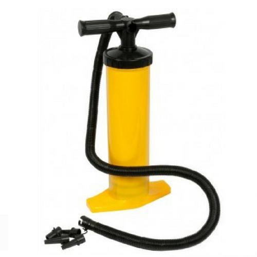 Luchtpomp geel
