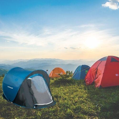 Orange85 Pop up tent Kamperen Festivals Weekendwebshop.nl
