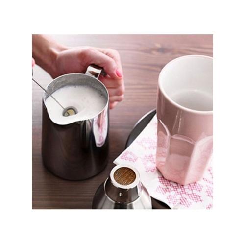 Melk opschuimer paars