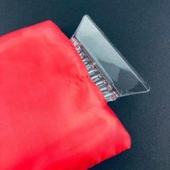 Orange85 IJskrabber met handschoen rood
