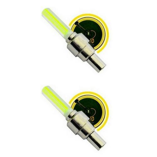 Fietswiel LED licht 2x Geel