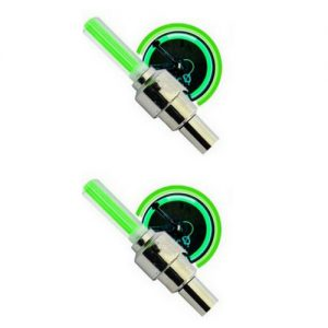 Fietswiel LED licht 2x Groen
