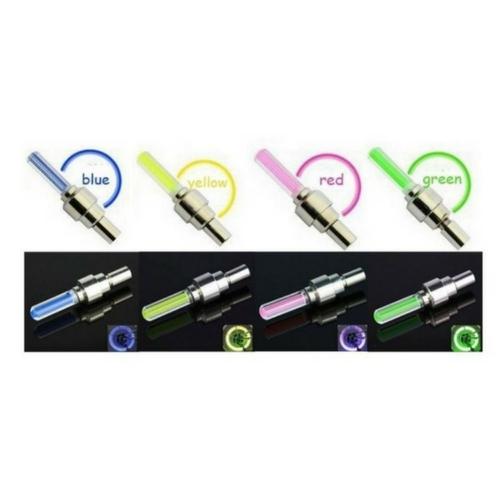 Fietslicht roze - Firefly LED - Ventielbevestiging - Set van 2 - Roze