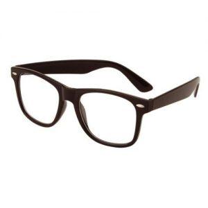 Nerd bril zonder sterkte zwart