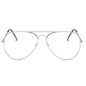 Bril zonder sterkte - zilver