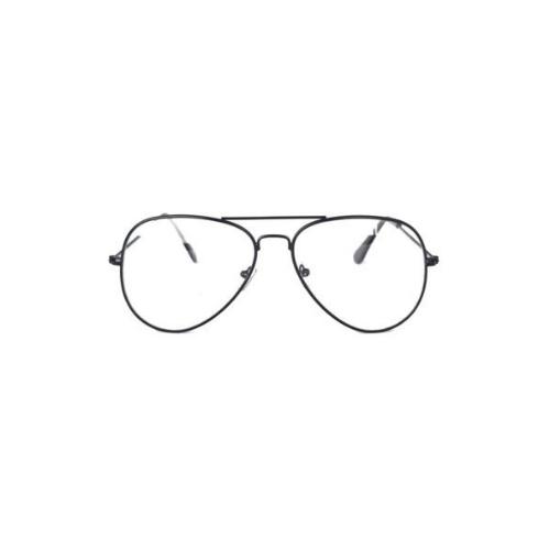 Aviator bril zonder sterkte
