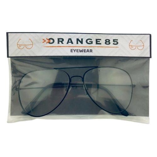 Orange85 Pilotenbril Zonder Sterkte Hip Unisex Zwart