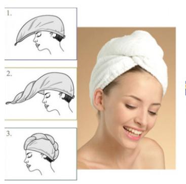 Haarhanddoek