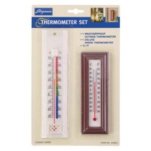 Thermometer weer set