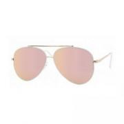 zonnebril piloot roze