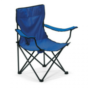 campingstoel blauw