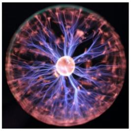 Plasma lamp | Plasma ball | Plasmabol | Disco verlichting