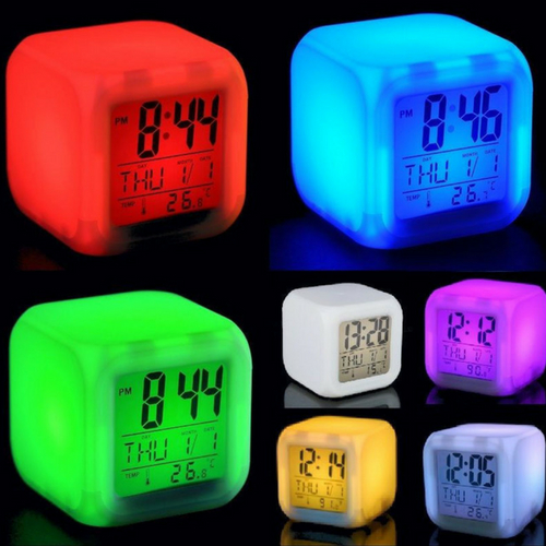 Klok met LED