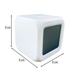 Digitale klok met LED maten