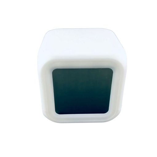 Digitale klok met LED bovenaanzicht