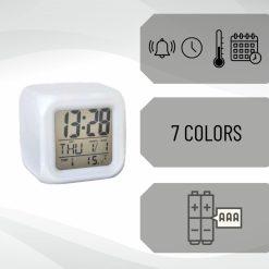 Digitale klok met LED USP