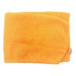 Haarhanddoek oranje vooraanzicht