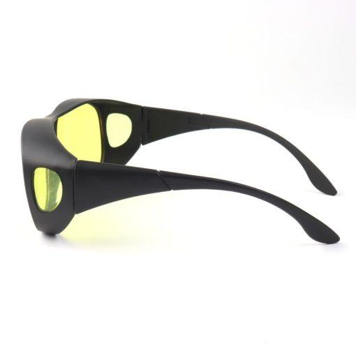 nachtbril overzetbril zijaanzicht