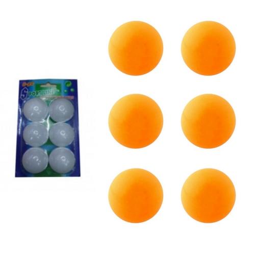 Ping pong ballen