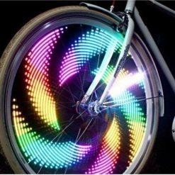 Fietswiel verlichting LED situatiebeeld