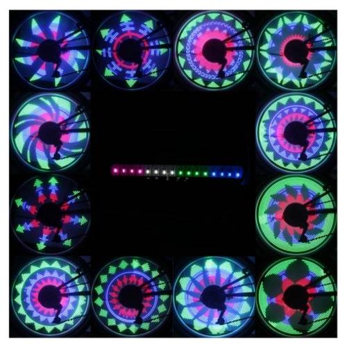 Fietsverlichting wiel LED | 30 motieven | Spaakverlichting