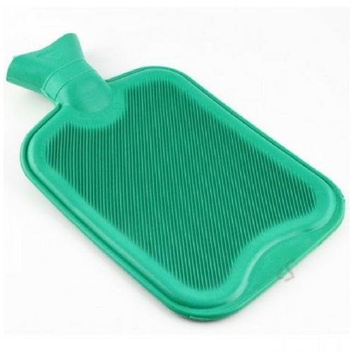 Warm water kruik groen