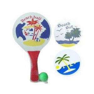 Beachball set hout
