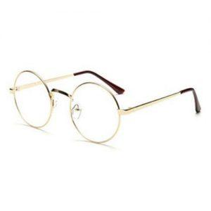 Bril rond goud