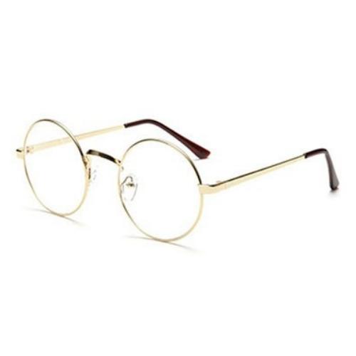 Bril rond - goud