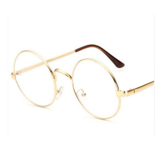 Bril zonder sterkte goud