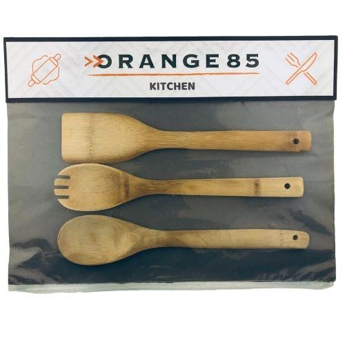 Spatelset bamboe verpakking