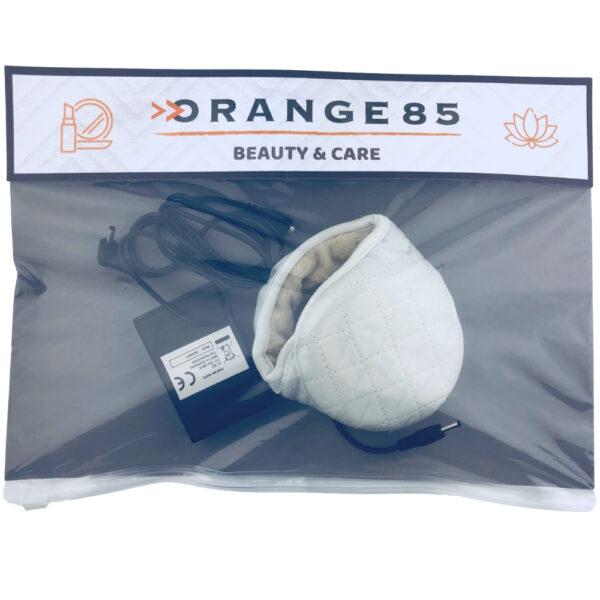 Orange85 Verwarmde oorwarmer wit