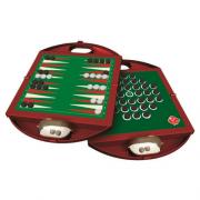 Backgammon en solitaire reisuitvoering