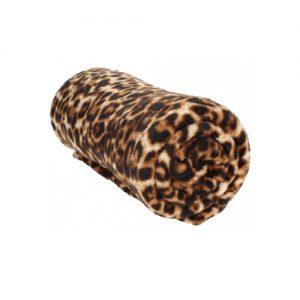 Fleecedeken met mouwen - tijgerprint