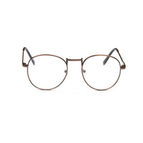 bril zonder sterkte brons - Weekendwebshop.nl