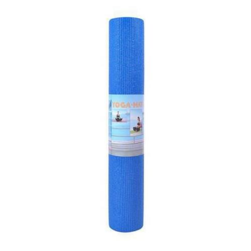 Yoga mat blauw