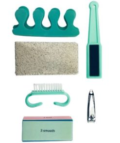 Orange85 Pedicure set 7-delig