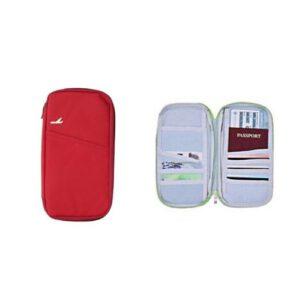 Dunlop reisportemonnee rood