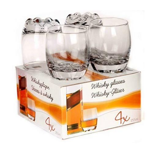 Whiskeyglazen set van 4 - Weekendwebshop.nl