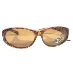 Benson Overzets zonnebril demi brown
