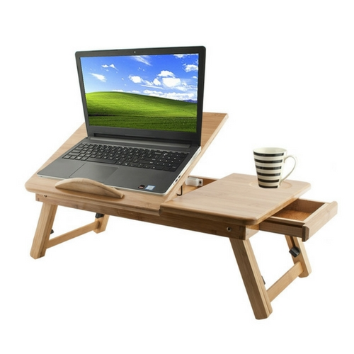 laptoptafel hout - laptop relax tafel - weekendwebshop.nl