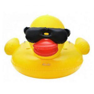 Zwembadluchtbed Eend (1)
