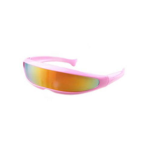 Snelle planga bril roze