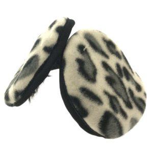 Orange85 Oorwarmers luipaard verstelbaar