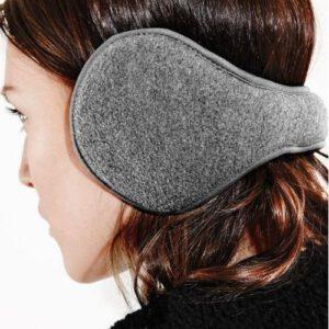 Orange85 Zwarte oorwarmers verstelbaar