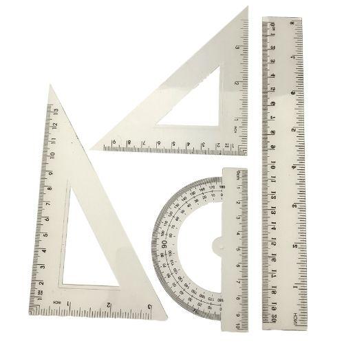 Topwrite Liniaal set - meet set 5-delig