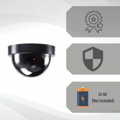 Dummy camera Beveiligingscamera 3 stuks USP